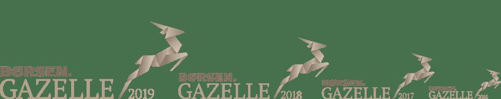 Webbureau København, vundet børsen gazelle 2019
